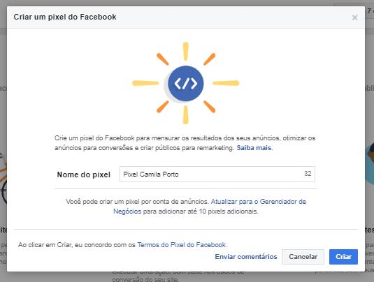 Pixel Do Facebook 3