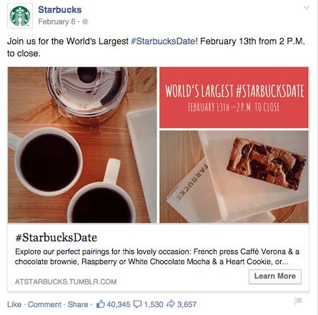 Exemplos de anúncios Facebook