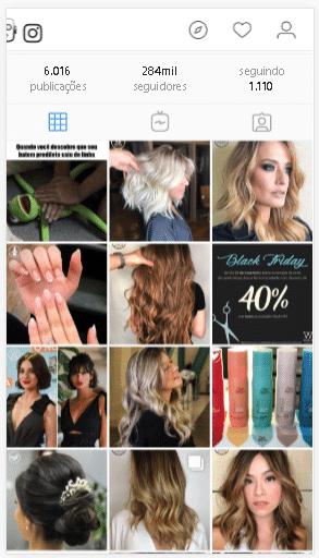 marketing para redes sociais cabeleireiro