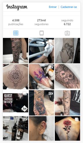 marketing digital para Estúdio de Tatuagem