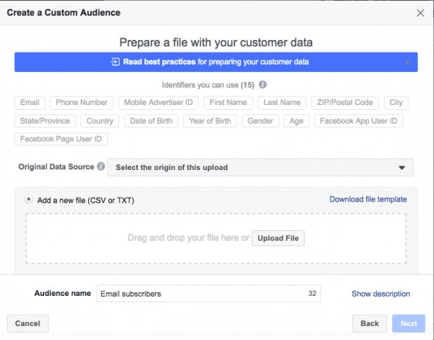 P Blicos Alvo Personalizados Do Facebook 3