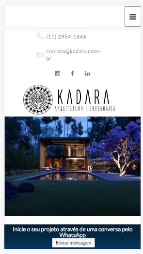 propaganda para arquitetura