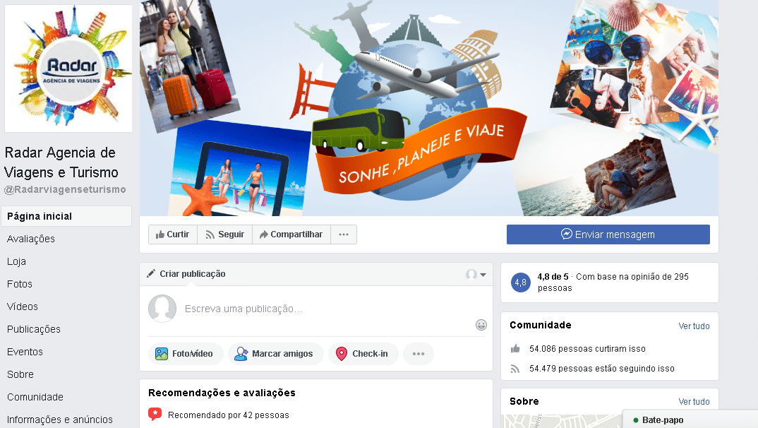marketing digital para agencia de viagem internacional