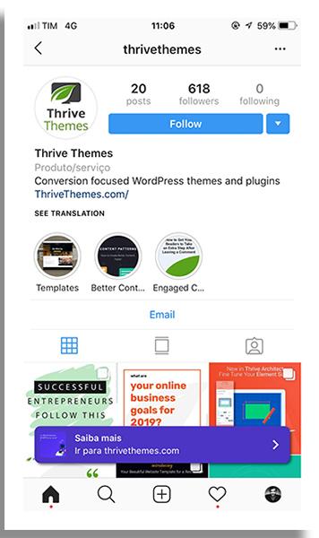 1584317117 5197 iba mais no instagram perfil