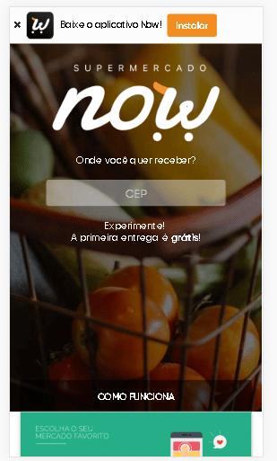 marketing digital para promoções de supermercado