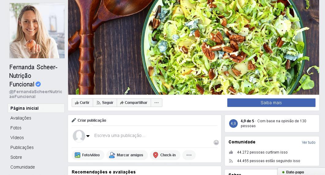 marketing digital para nutricionista redes sociais