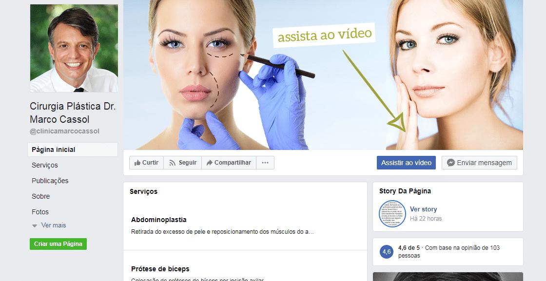 publicidade Clínica de Cirurgia Plástica