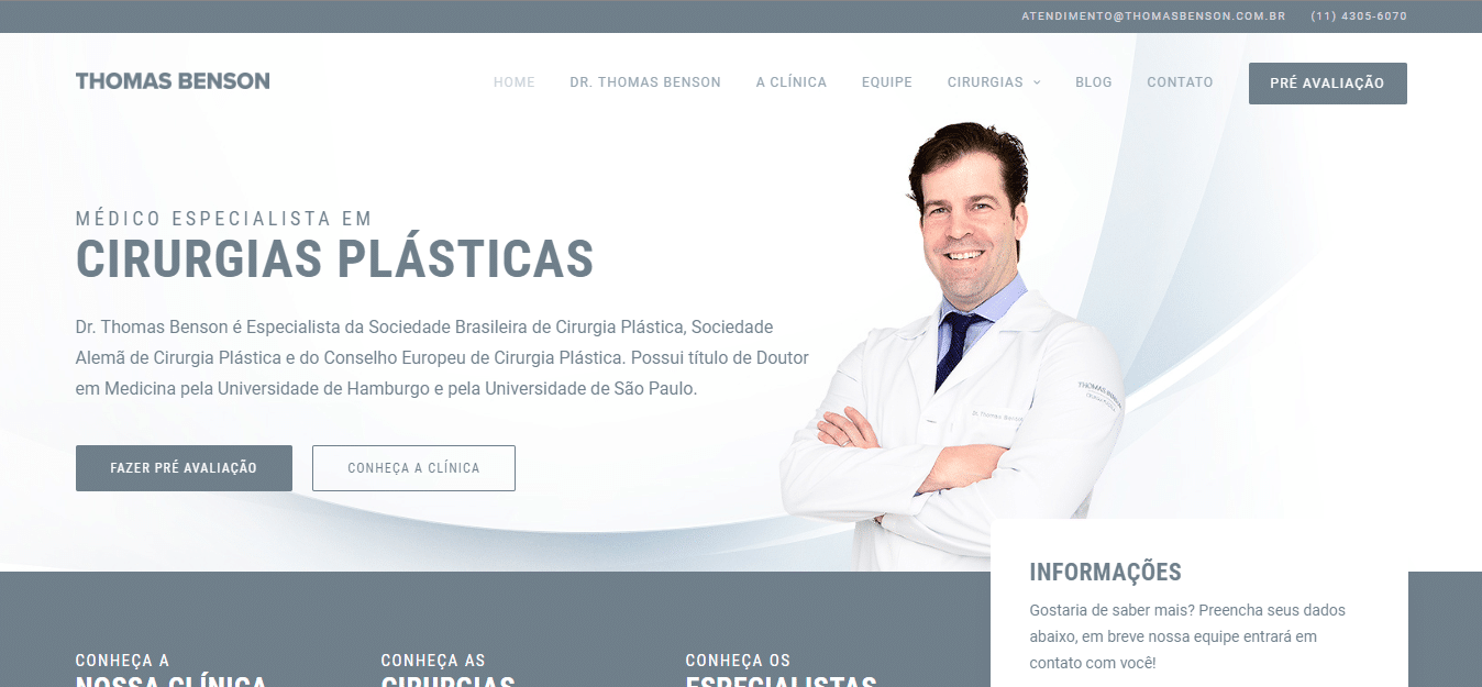 anúncios de cirurgia plastica