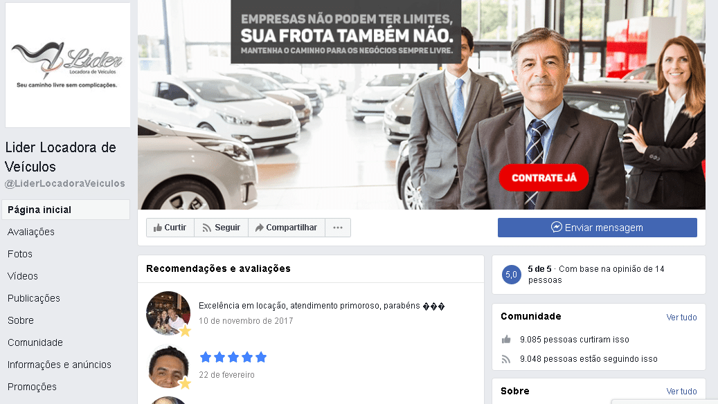 marketing digital para locadora de carros