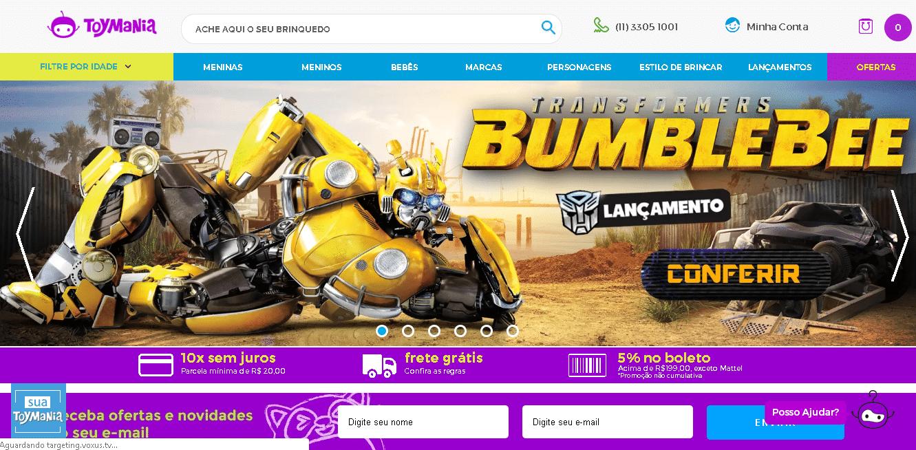 marketing digital para loja de brinquedos