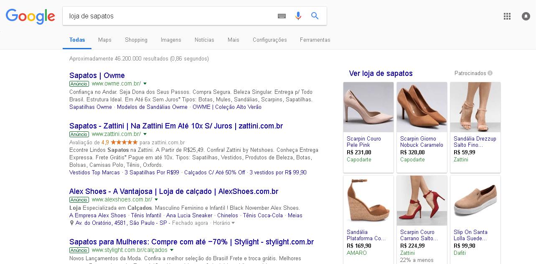 marketing digital para loja de sapatos