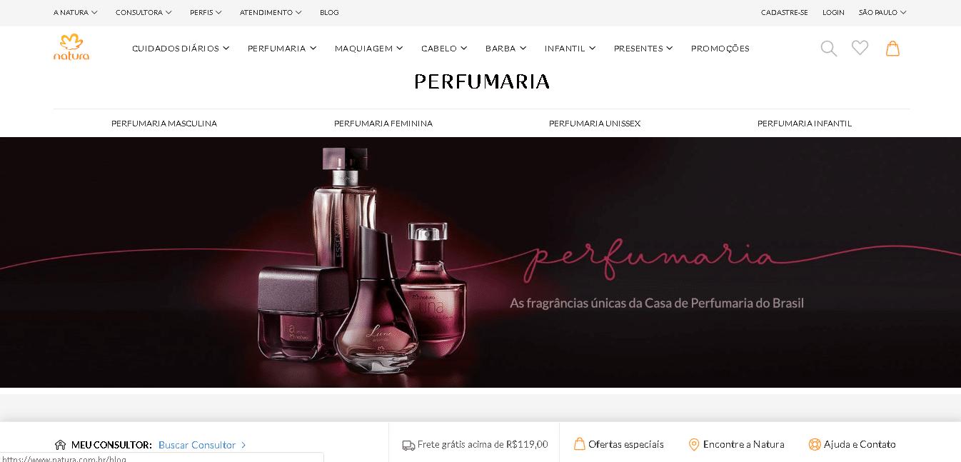 marketing digital para perfumaria