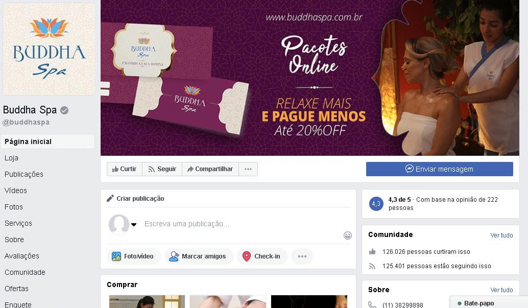 marketing divulgação redes sociais para spa