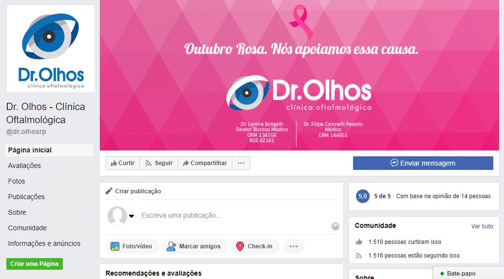 marketing digital para oftalmologista redes sociais