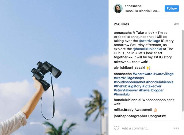 parcerias no Instagram para divulgar negócio