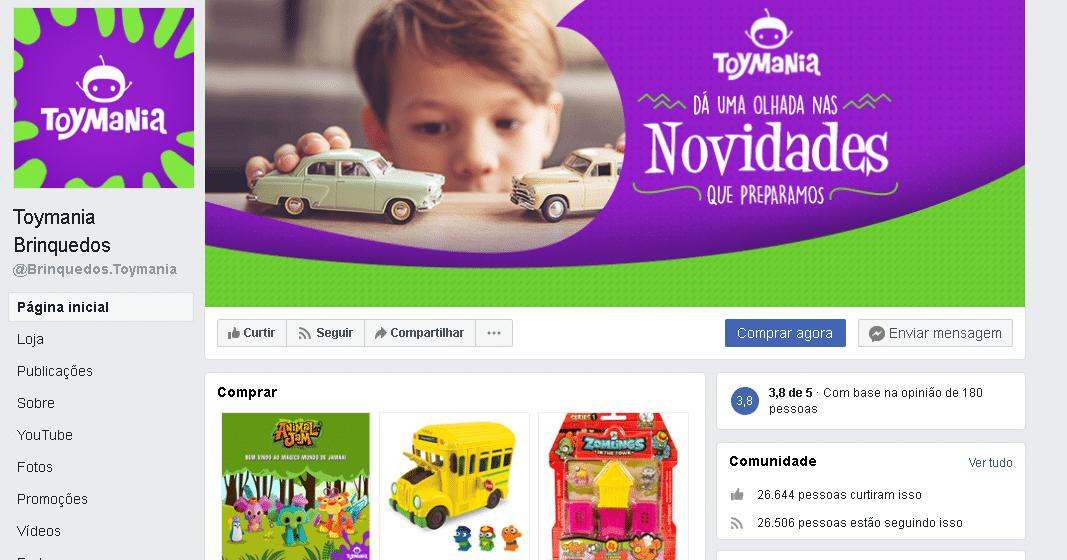 publicidade para loja de brinquedos