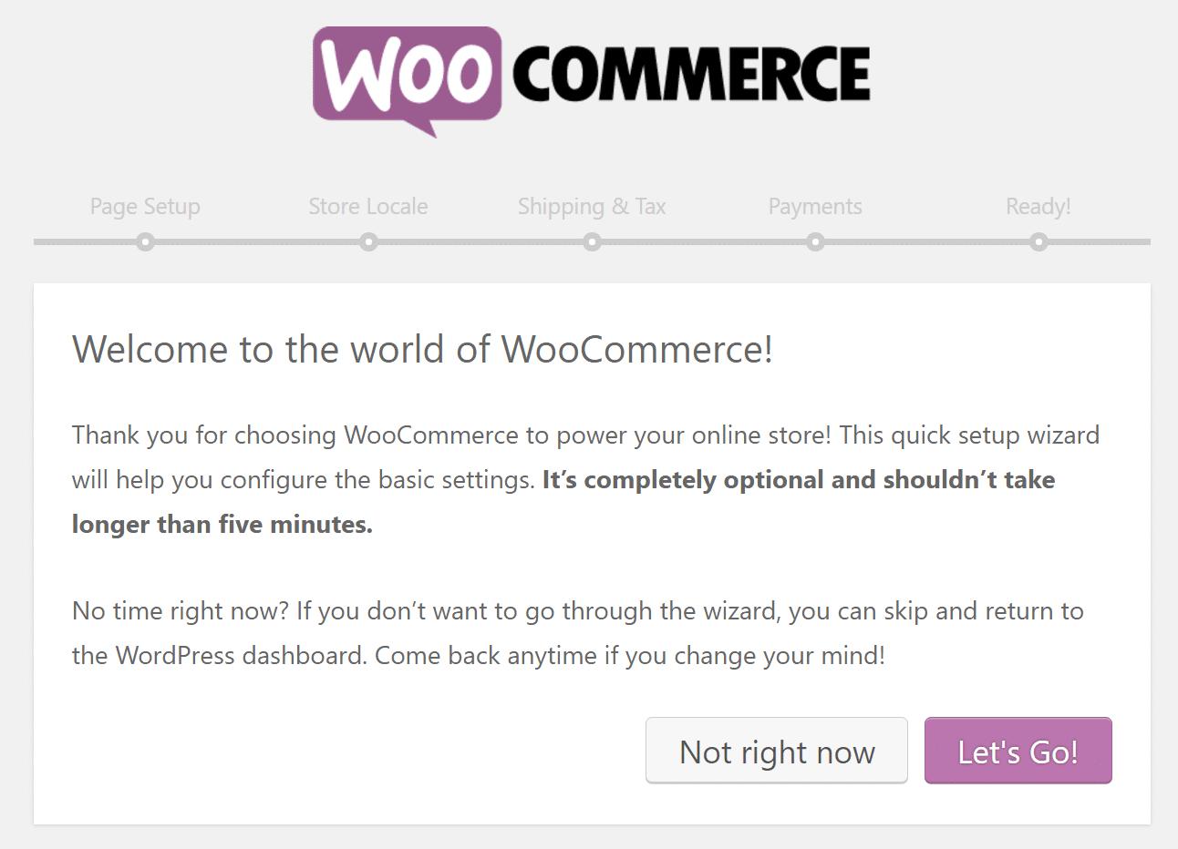 1554920019 4479 Woocommerce Setup