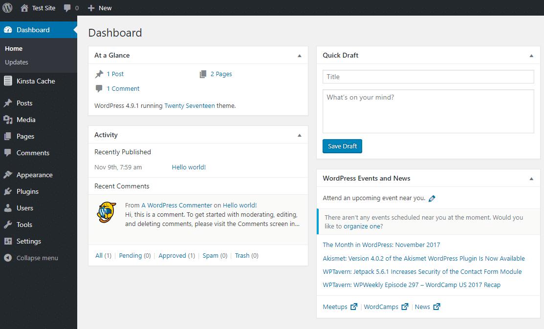 1554936646 2629 WordPress Admin Dashboard 2