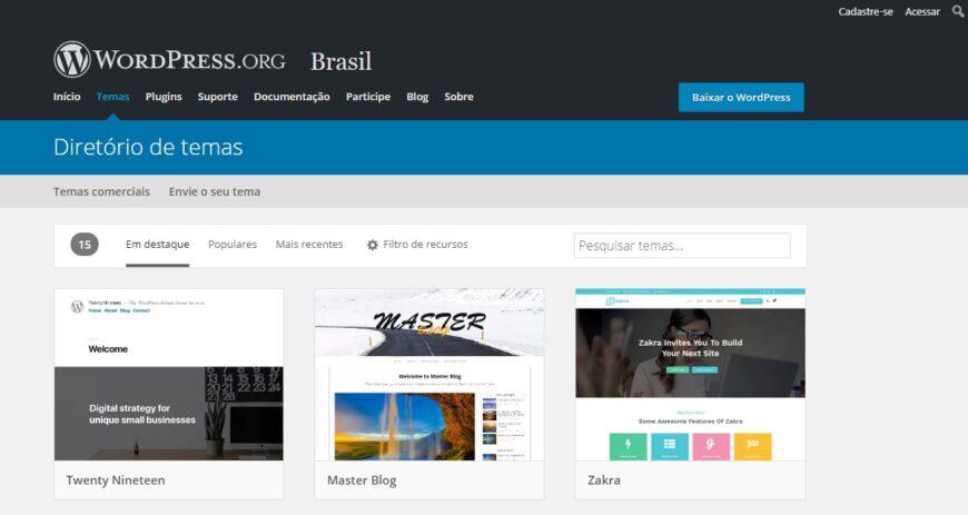 Blogger Ou WordPress