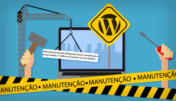 Site Manutencao Wordpress