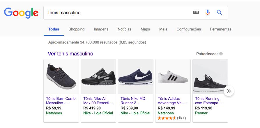 anuncios google shopping