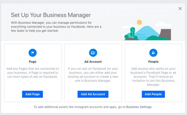 Gerenciador de negócios Facebook Passo a Passo 4