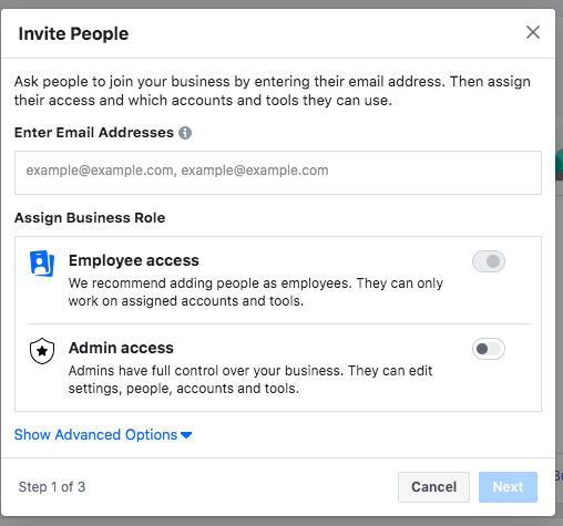 Gerenciador de negócios Facebook Passo a Passo 10