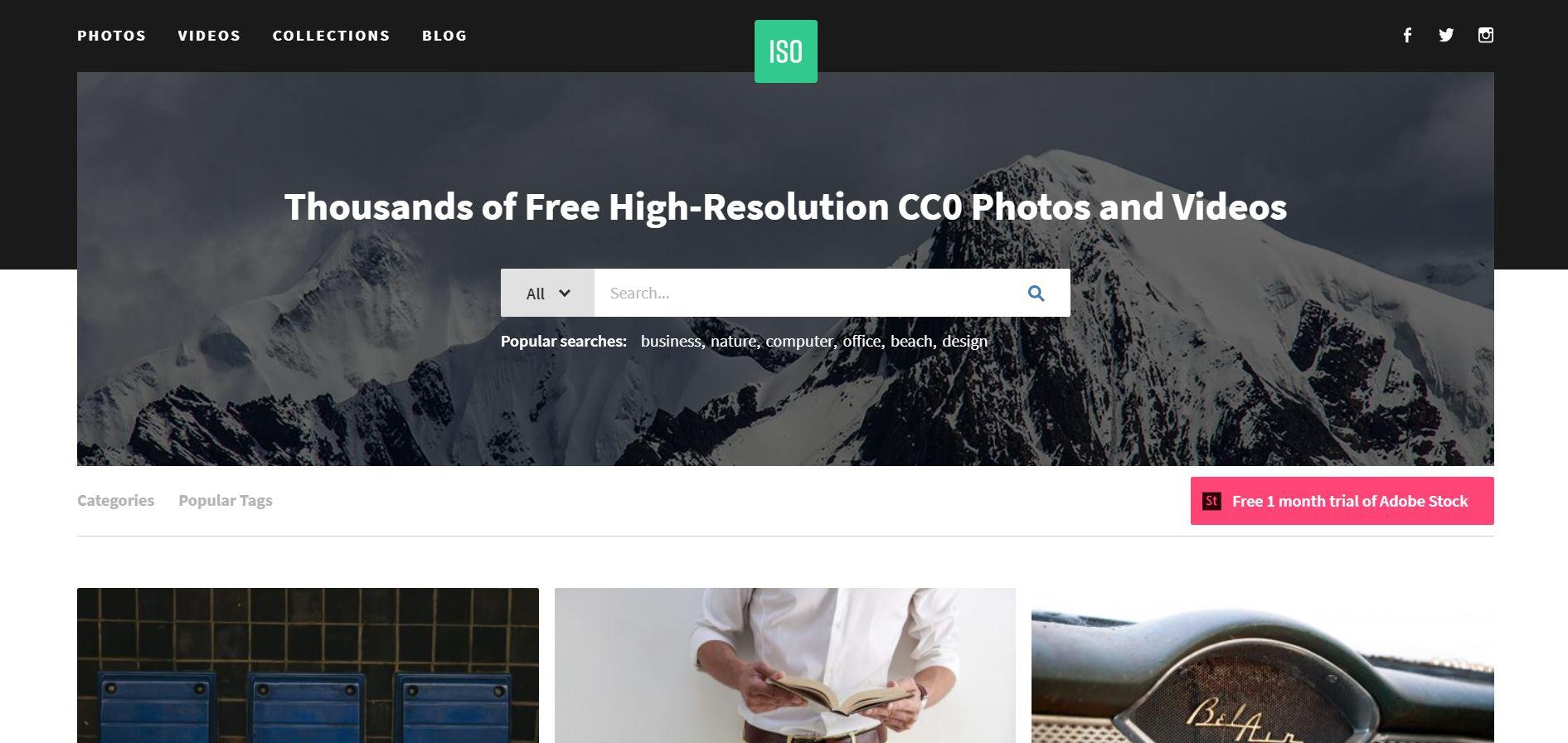 70 Bancos de Imagens Grátis Sites de Fotos Gratuitas 8