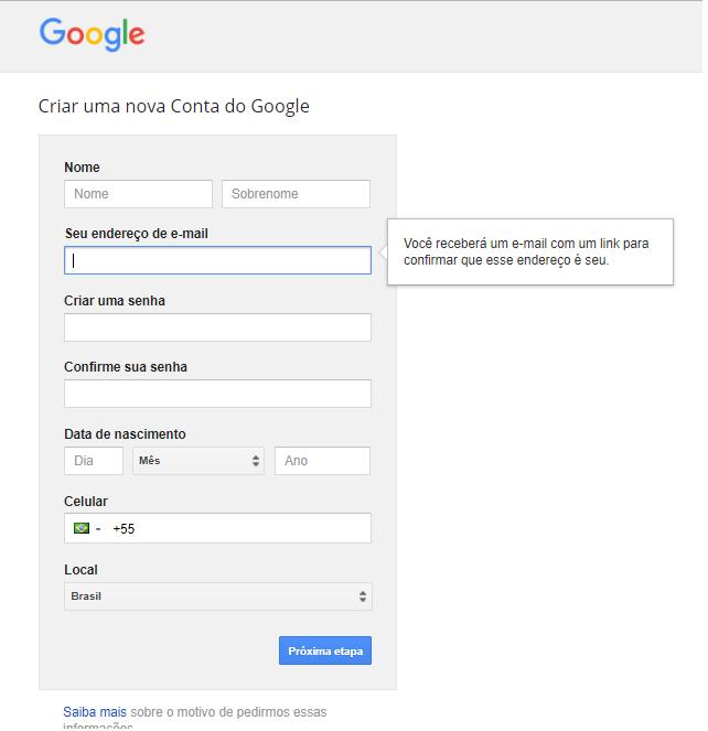 planejador de palavras chaves do Google