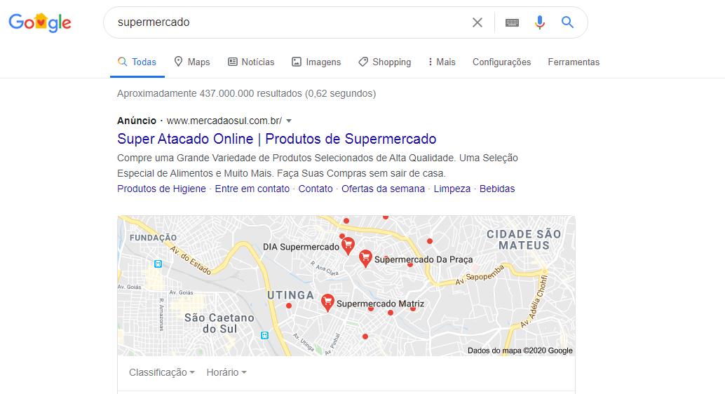 Anunciar Supermercado