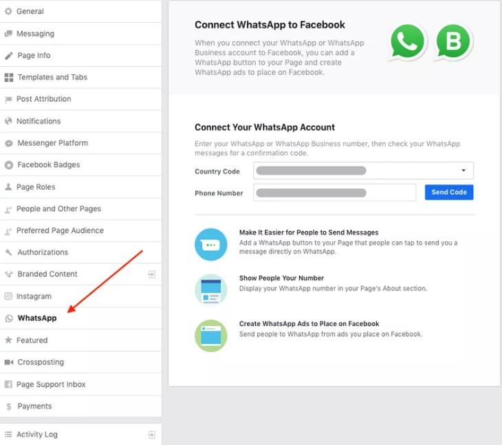 Como Colocar O Link Do Whatsapp No Facebook