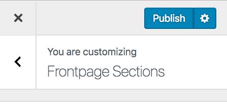 publicar personalizador