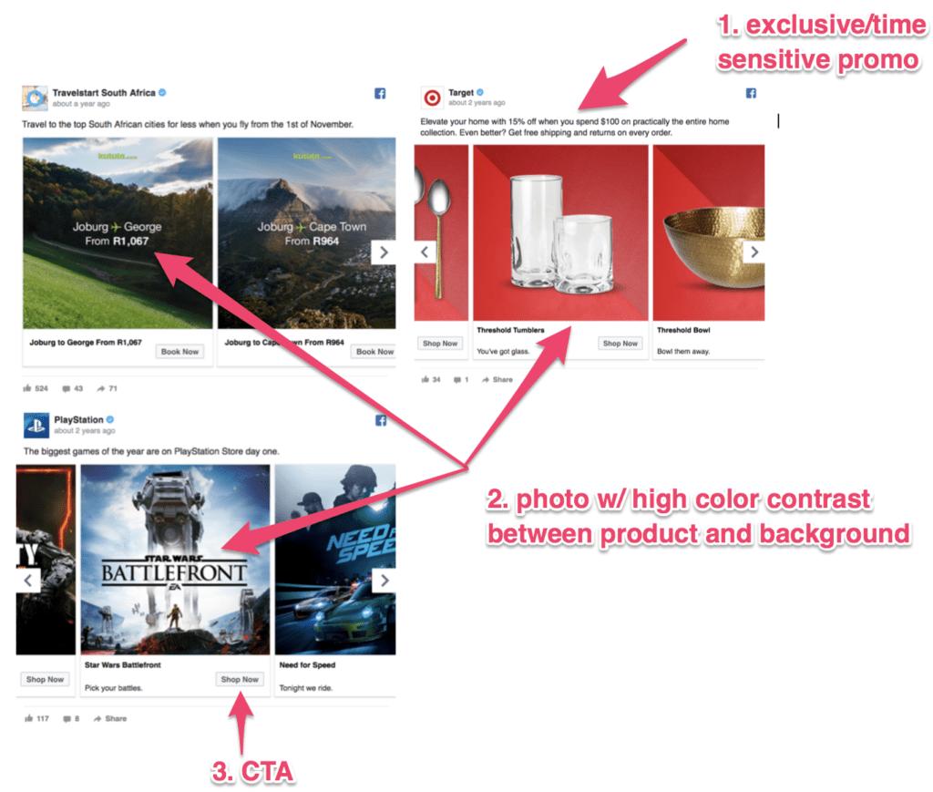 modelo de publicidade do facebook