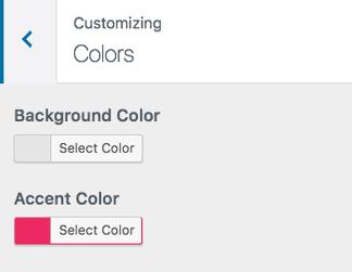 cores do personalizador