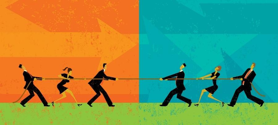O conflito no marketing digital
