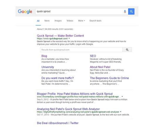 Como Gerar Sitelinks Do Google