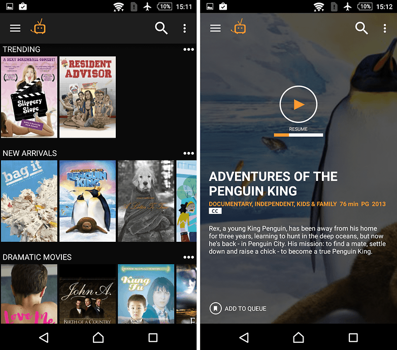 androidpit tubitv app w782