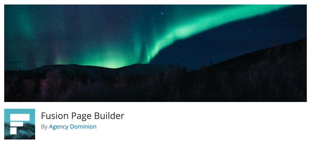 Fusion WordPress Page Builder