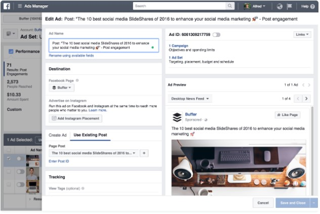 Como Editar Anuncios Usando O Gerenciamento De Anuncios Do Facebook
