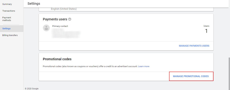 Codigo Promocional Do Google Ads