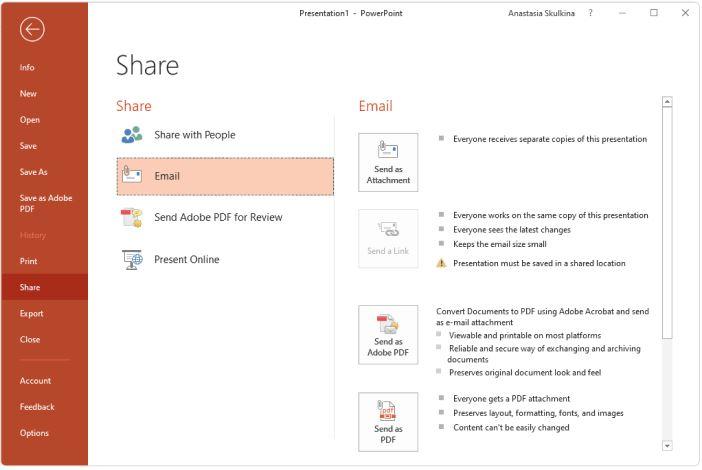 Converta E Compartilhe Arquivos Em Powerpoint